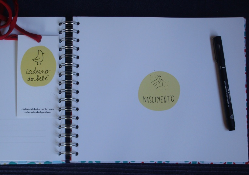 Caderno bebé 2 paint
