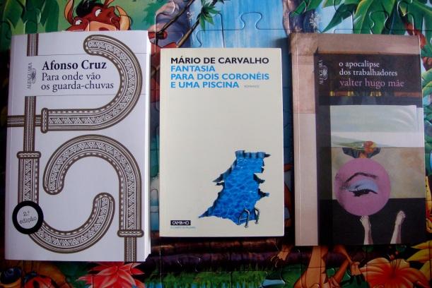 Livros vhm afonso cruz mario de carvalho