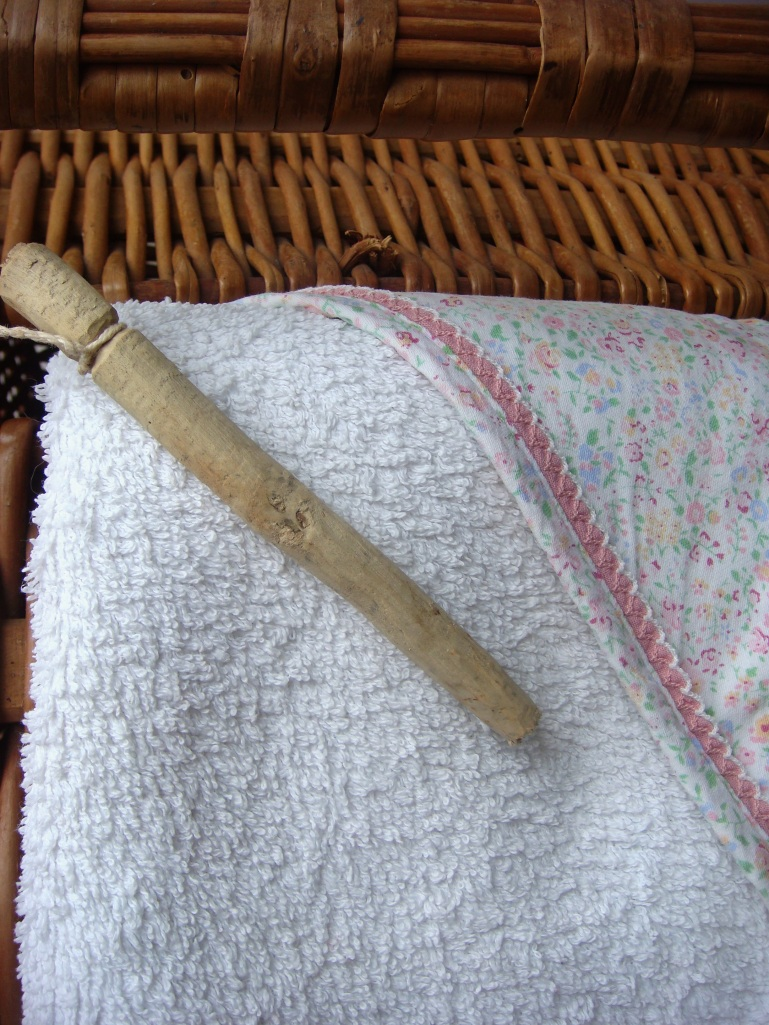 cesto das toalhas