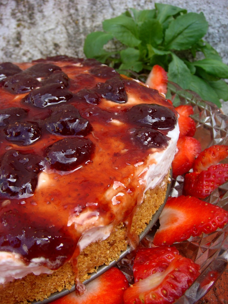 cheese cake morango2