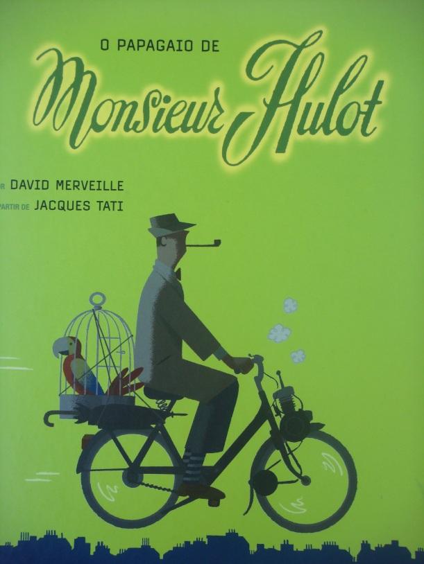 capa O papagaio de Monsieur Hulot