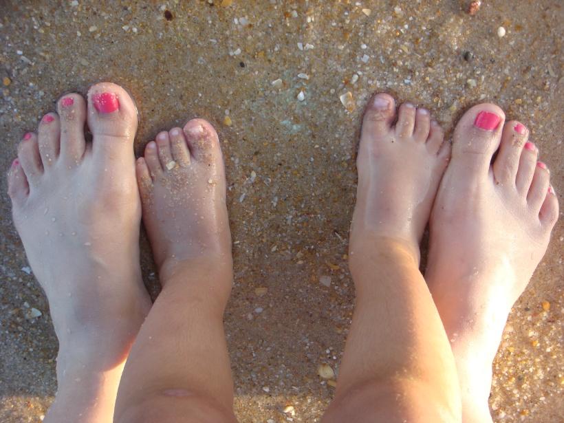pás na areia