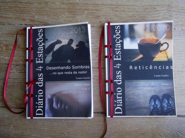 2 livros de Lunna Guedes