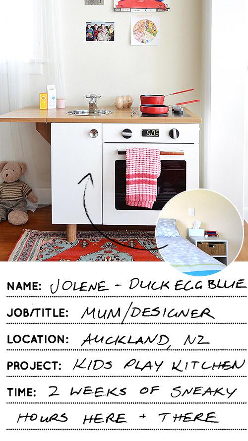 cozinha de criança recuperada
