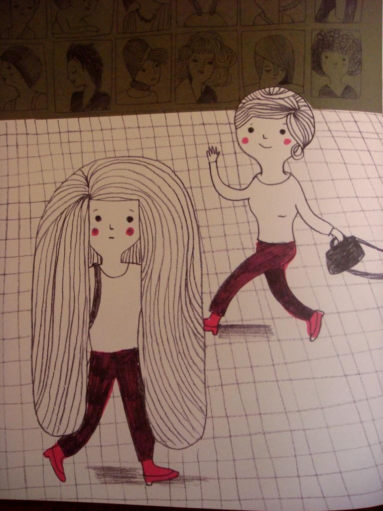 Enquanto o meu cabelo crescia página 6
