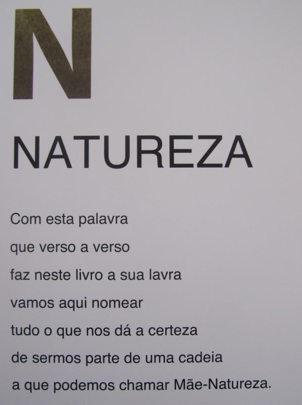 Natureza Alfabeto da Natureza