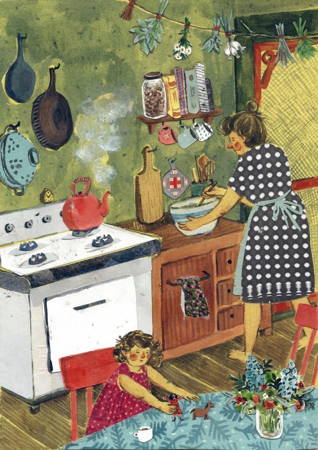 Cozinhar com a Mãe