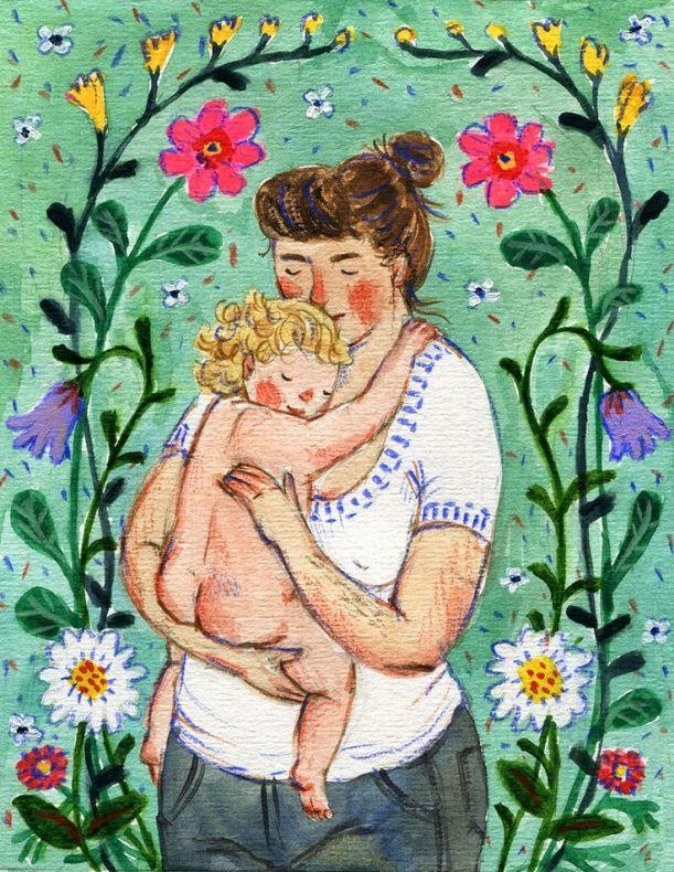 Phoebe Wahl mãe