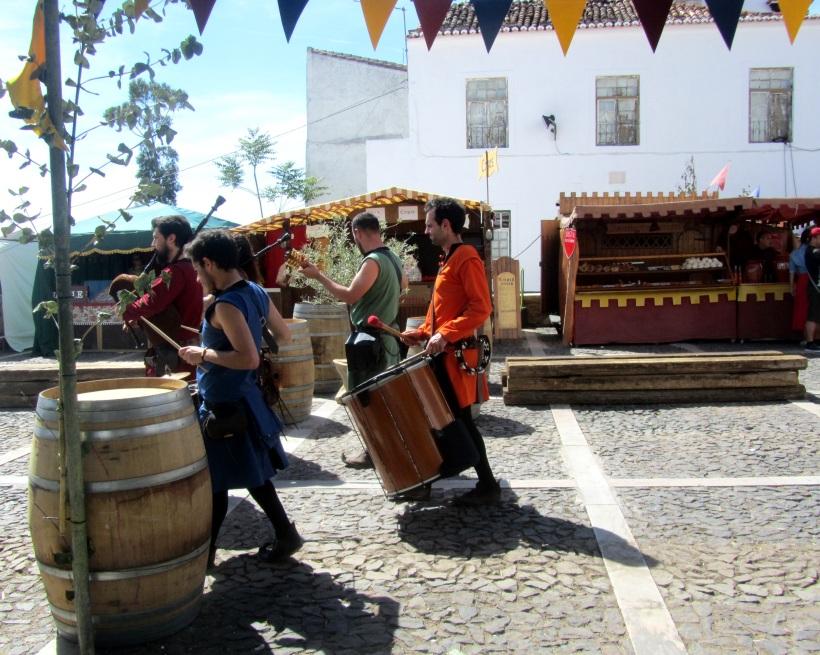 Músicos medievais Estremoz 2015