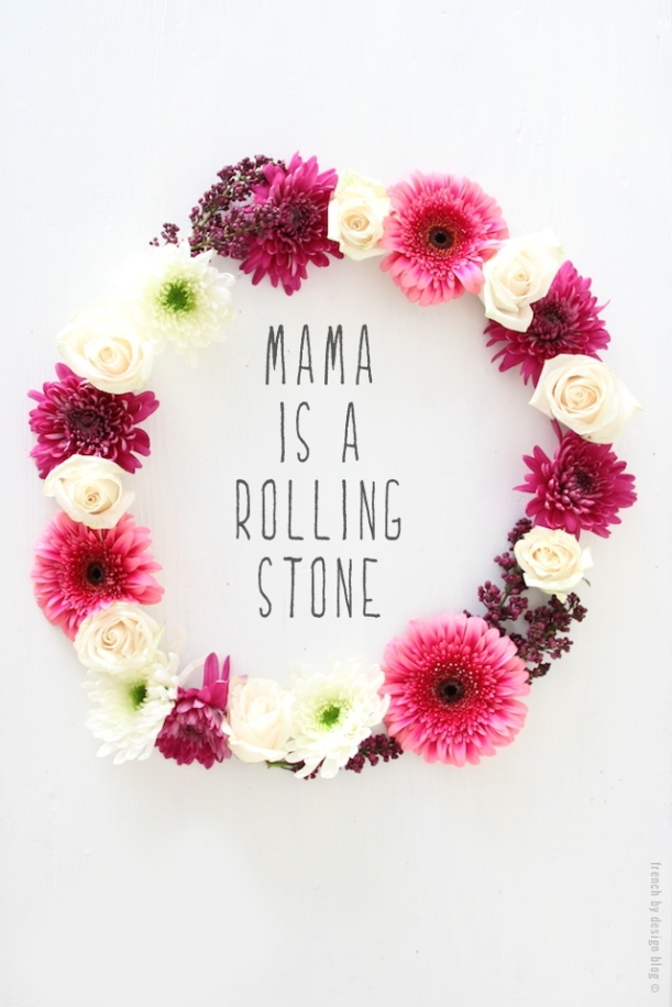 Mother is a rolling stone