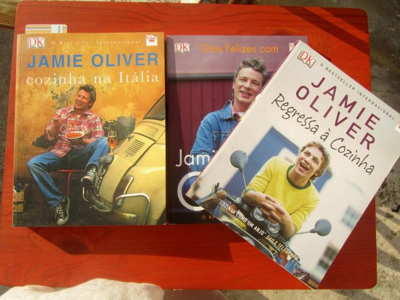Livros do Jamie Olivier