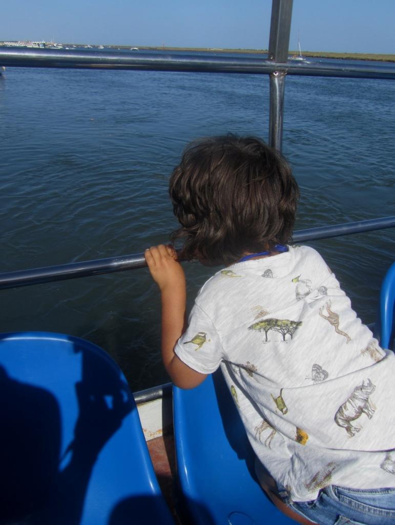Beatriz no barco