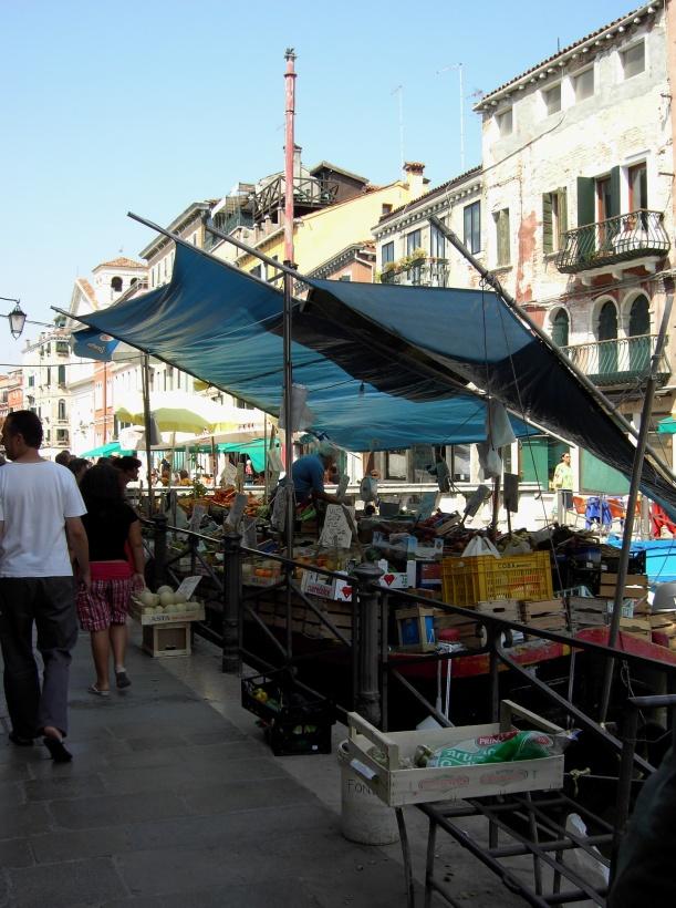 Veneza mercado local