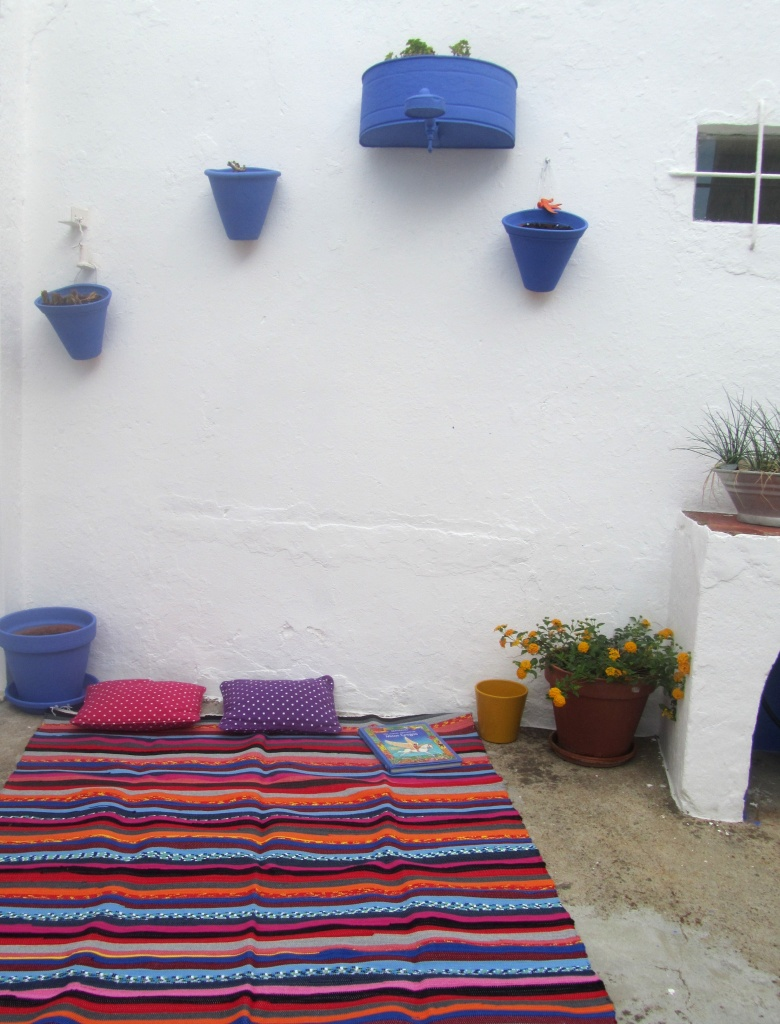quintal azul