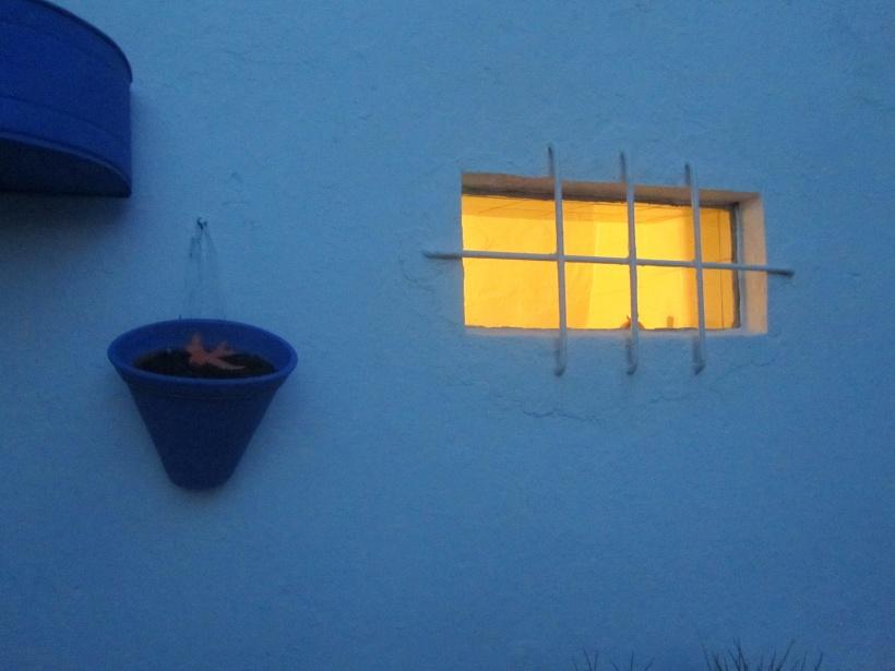 quintal à noite