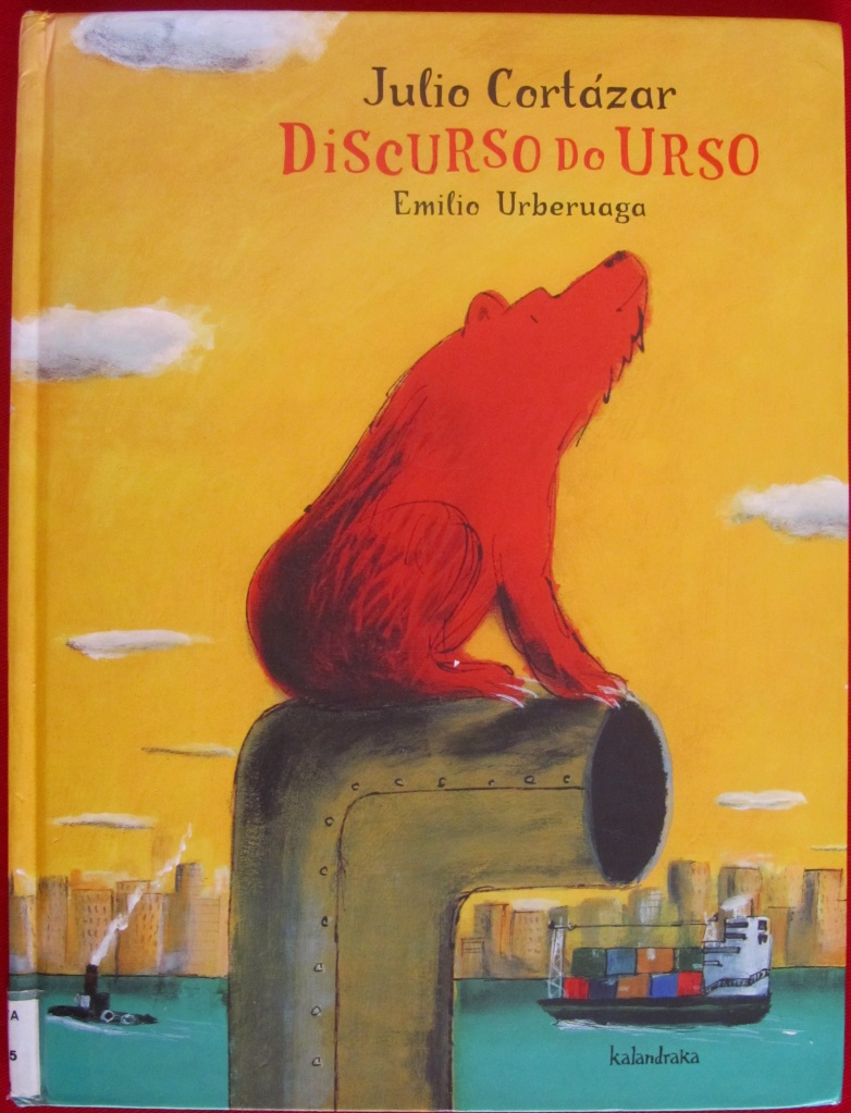 Discurso do Urso Capa