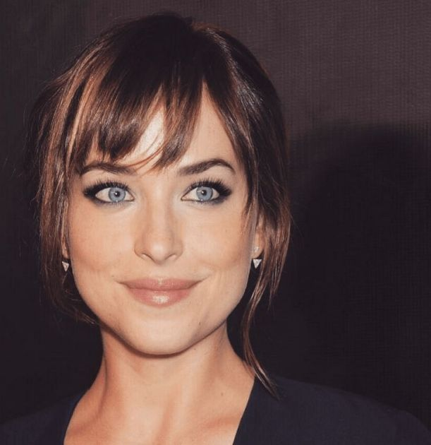 Smoky eyes Dakota Johnson