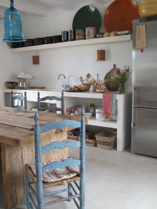 cozinha boémia