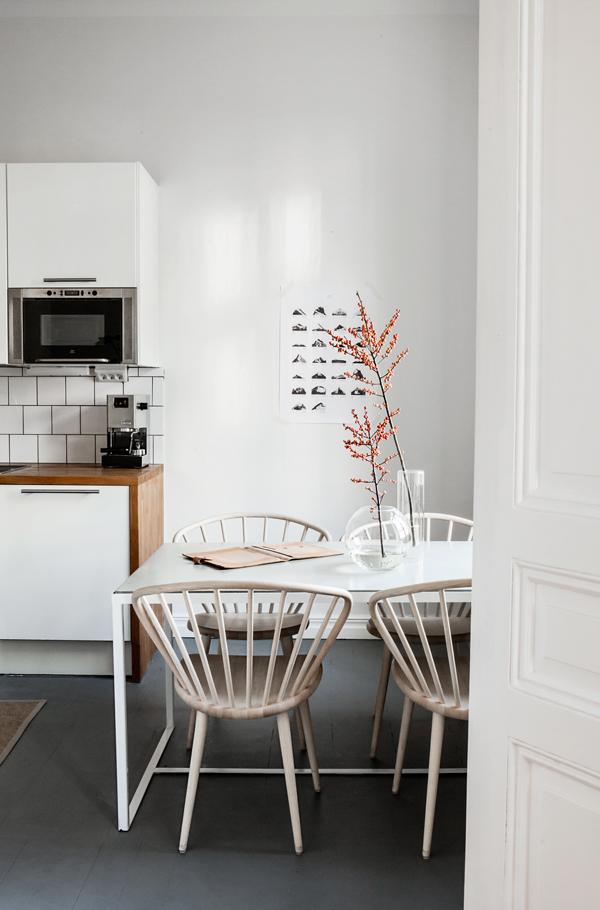 Cozinha escandinava: vive aqui alguém?