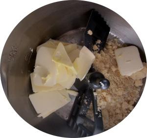 açúcar e manteiga