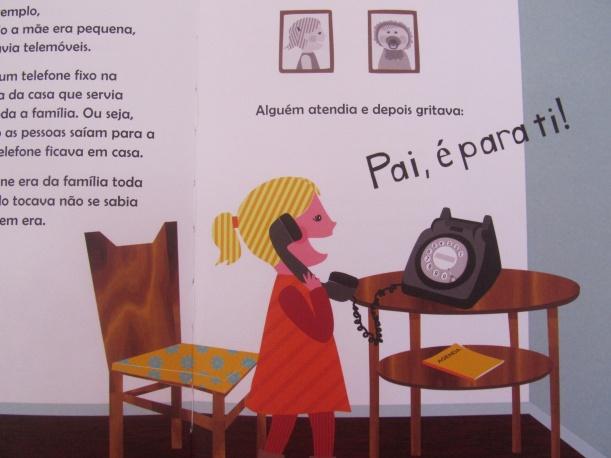 Quando a mãe era pequena telefone
