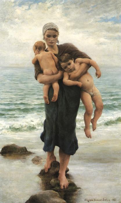 virginie_demont_breton_wife_canvas_print_11a
