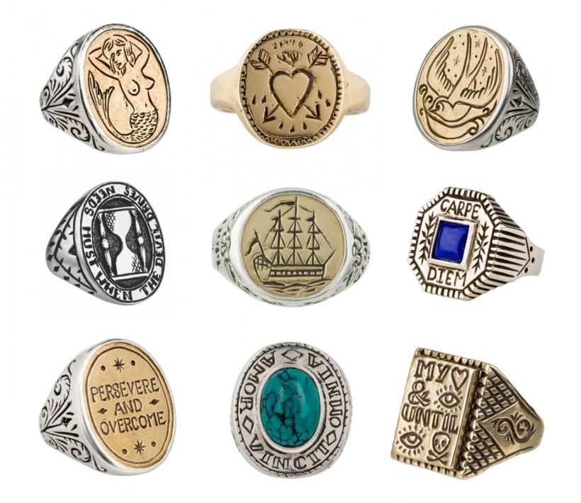 LHN-rings