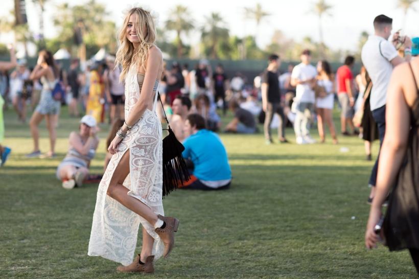 vestido branco comprido look festival