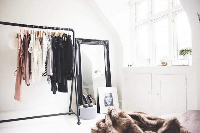 varão para roupa