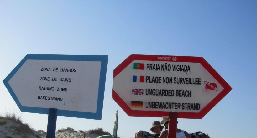 Praia não vigiada