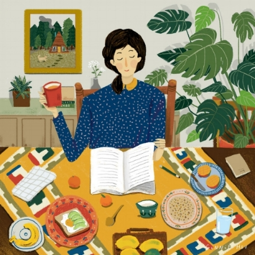breakfast-Morning-Ginnie Hsu