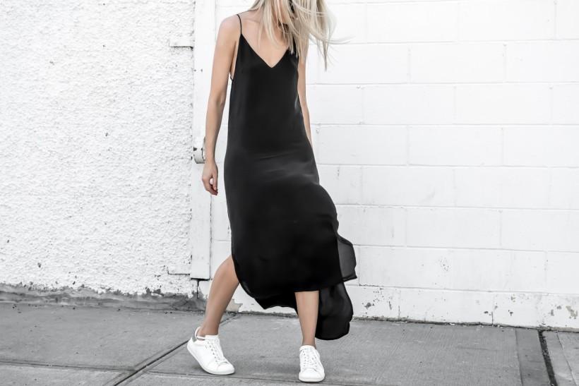 FIGTNY_ Black dress 2018