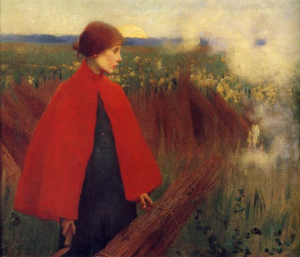 The Passing Train Marianne Stokes