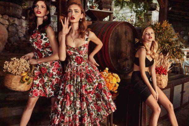 Dolce e Gabbana pub 2018