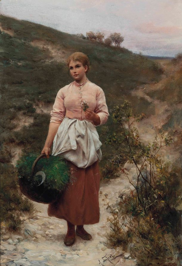 alfred_seifert_picking_flowers