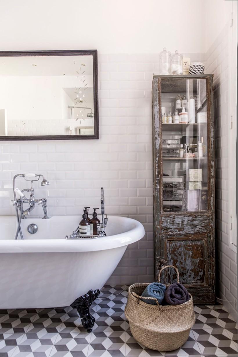 casa de banho vintage