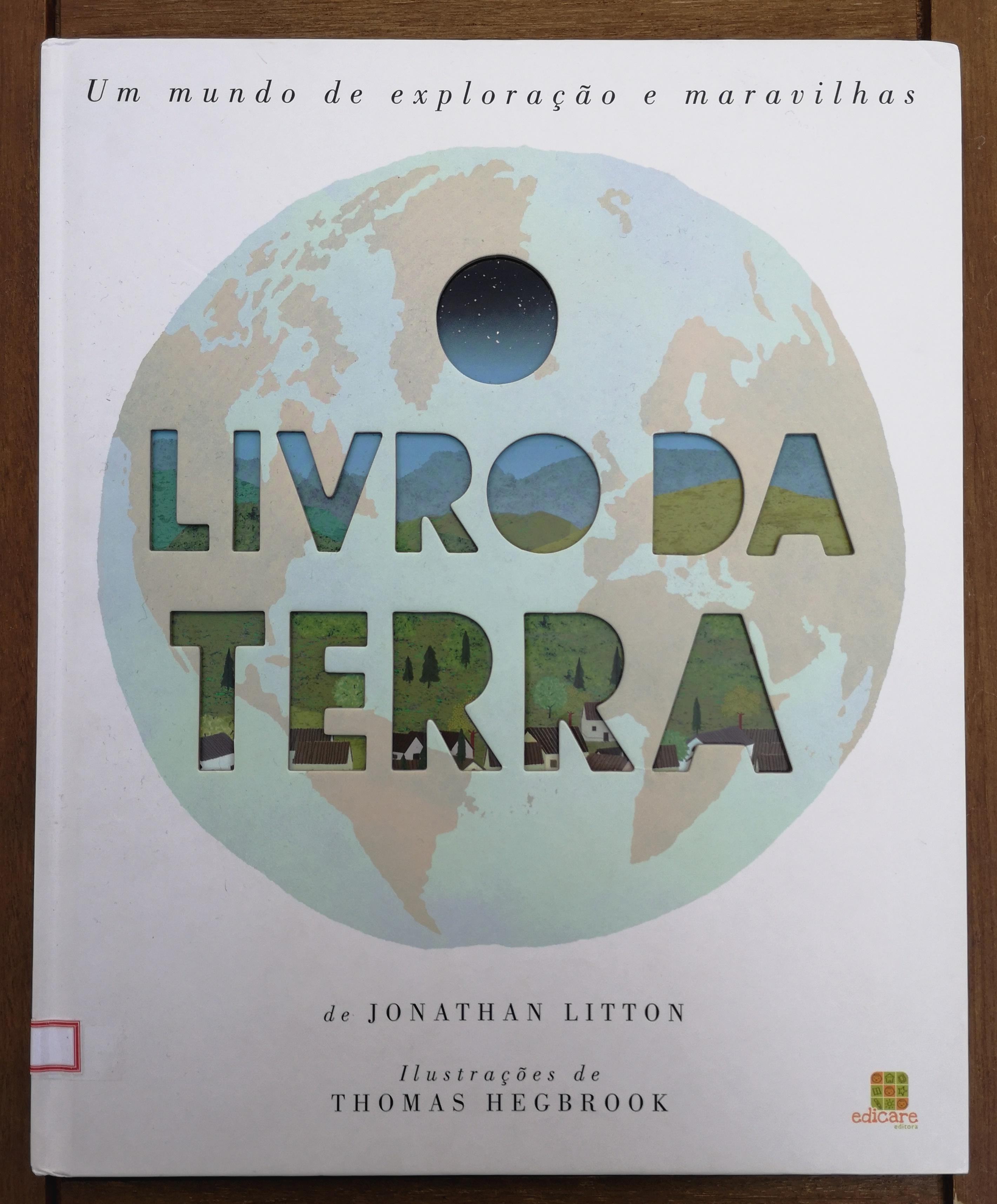 capa O livro da Terra
